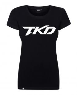 Koszulka damska Basic (Czarna)
