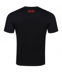 T-shirt Basic (Black - Red)