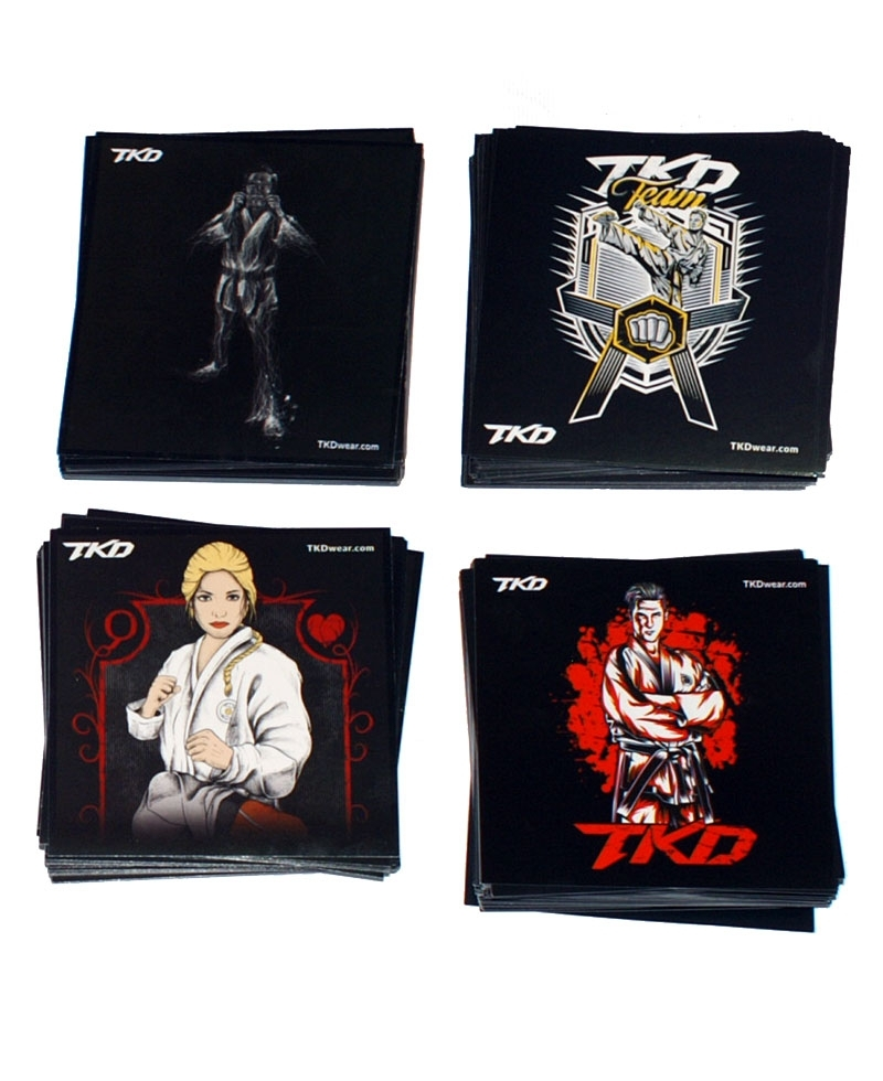 TKD stickers set