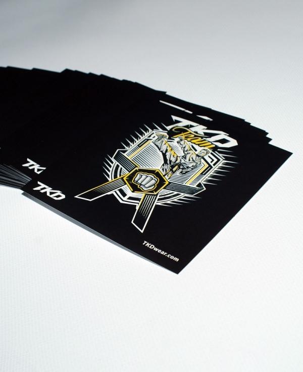 TKD Team stickers