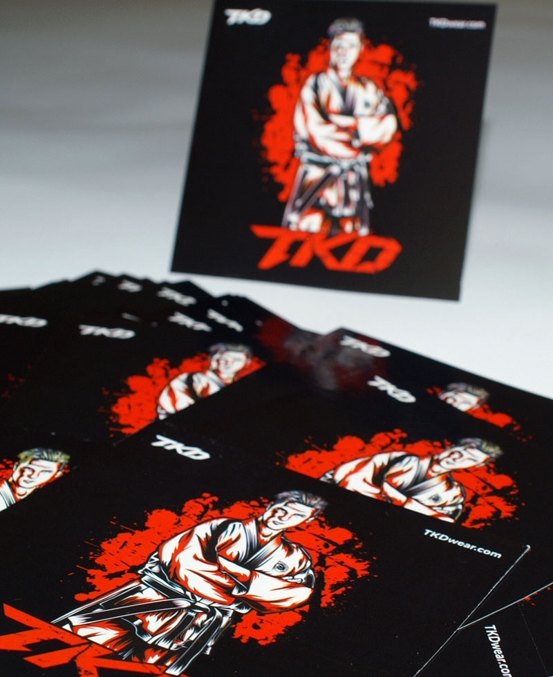 Street Fighter stickers