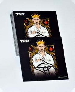 Wlepki TKD King