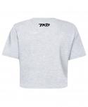 T-shirt TKD Crop top (Black)