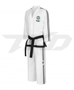 MIGHTYFIST ONYX Master 7-9 Degree Dobok