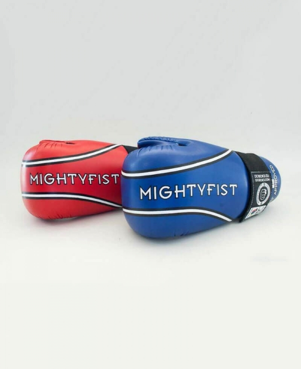 MIGHTYFIST leather sparring gloves - ITF Approved