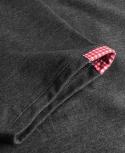 Polo Basic (Szaro - Czerwona)