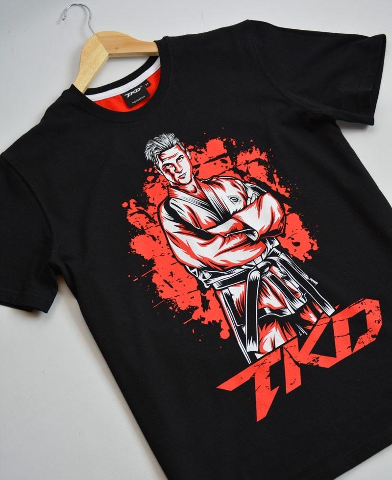 ed708ac73361 Taekwon-do shirt Street Fighter Black