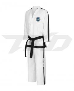 TRADITIONAL logo Black Belt 4-6 Degree Dobok ONYX