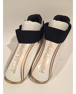 MIGHTYFIST sparring boots - White/Gold