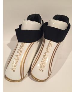 Ochraniacze stóp MIGHTYFIST - Białe/Złote