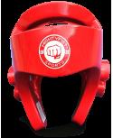 Kask, ochraniacz na głowę MIGHTYFIST (Niebieski / Czerwony)