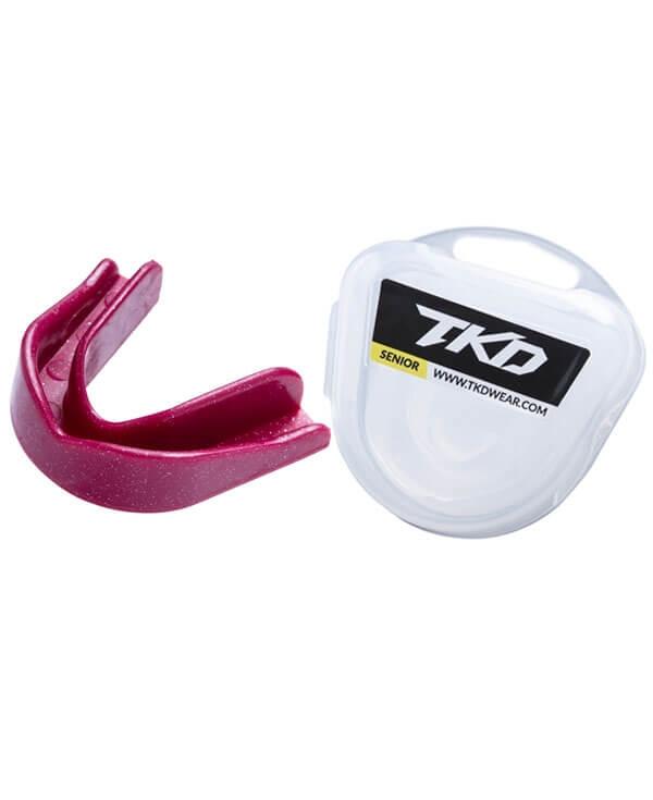 TKD Mouth Guard - sparkle pink (senior size)