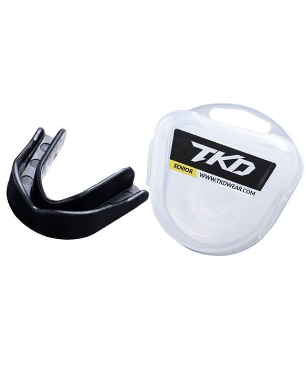 TKD Mouth Guard - black (senior size)