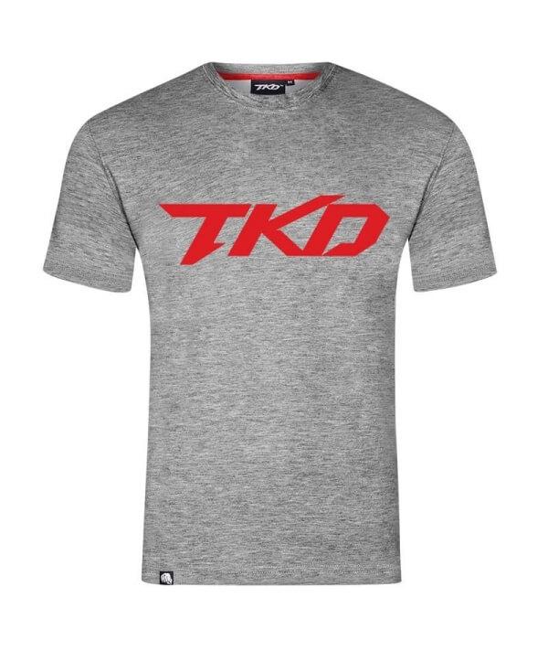 Koszulka TKD Basic (Ciemny Melanż)