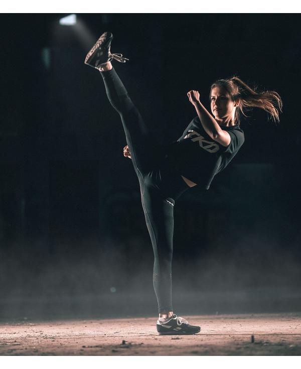TKD Leggings (Black - mesh)