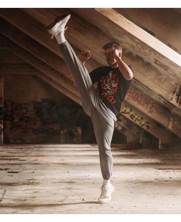 Koszulka Street Fighter (Czarna)