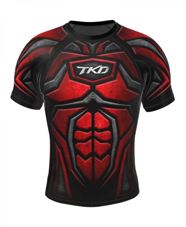 Rashguard - TKD Armour (Czerwony)