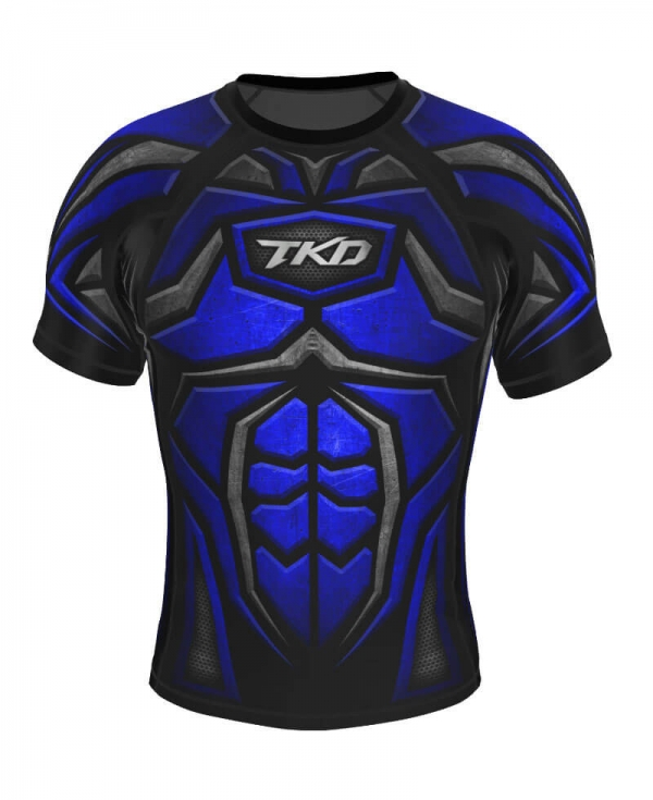 Rashguard - TKD Armour (Niebieski)