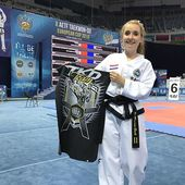 Fresh photo 📸and great news from Sochi🇷🇺❗️ Bo Rook (@borook) won 🥇🏆category II Degree patterns❗️ ⠀ ⠀ Really big congratz 👊and our sincere thank you 🙏 for promoting TKD wear!⠀ ⠀ ⠀ www.TKDwear.com⠀ ⠀ #tkdwear #taekwondo #tkd #tkdshirts #taekwondofighter #fighter #training #trainingshirt #style #trainingday #taekwondogirl #taekwondogirls #kick #athlete #taekwondoshirt #taekwondoitf #taekwondowtf #itf #taekwondostyle #clothing #tkdstyle #borookchampion⠀ ⠀